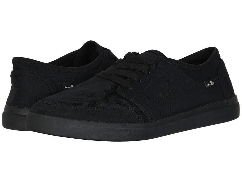 サヌーク メンズ スニーカー シューズ Vagabond Lace Sneaker Black/Black