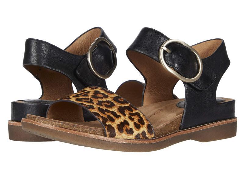 ソフト レディース サンダル シューズ Bali Black/Leopard T