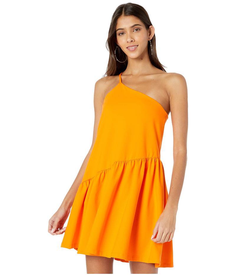 スサナモナコ レディース ワンピース トップス One Shoulder Gather Flare Dress Popsicle