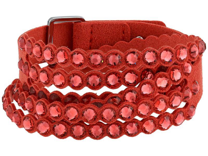 スワロフスキー レディース ブレスレット・バングル・アンクレット アクセサリー Power Collection Bracelet Padparadscha/Re