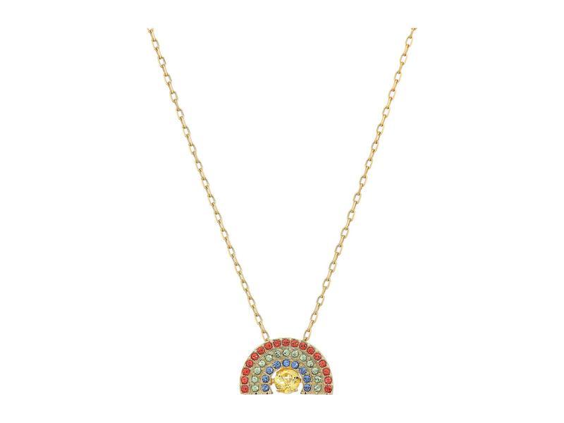 スワロフスキー レディース ネックレス・チョーカー・ペンダントトップ アクセサリー Sparkling Dance Rainbow Necklace Light Multi/Rai