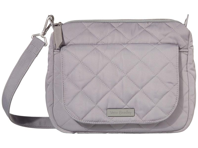 ベラブラッドリー レディース ハンドバッグ バッグ Carson Performance Twill Mini Shoulder Bag Tranquil Gray