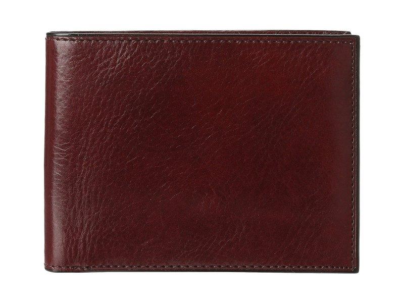 ボスカ メンズ 財布 アクセサリー Old Leather Classic 8 Pocket Deluxe Executive Wallet Dark Brown
