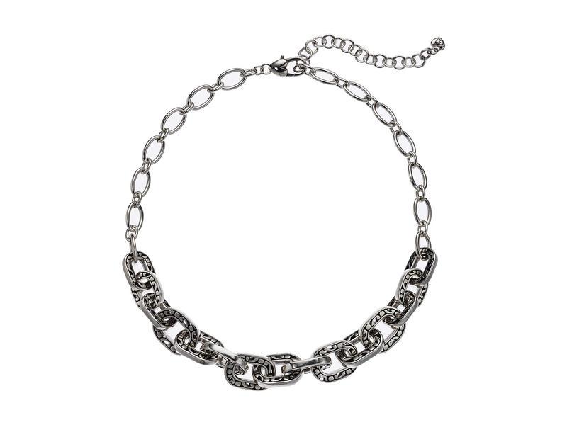 ブライトン レディース ネックレス・チョーカー・ペンダントトップ アクセサリー Contempo Linx Necklace Silver