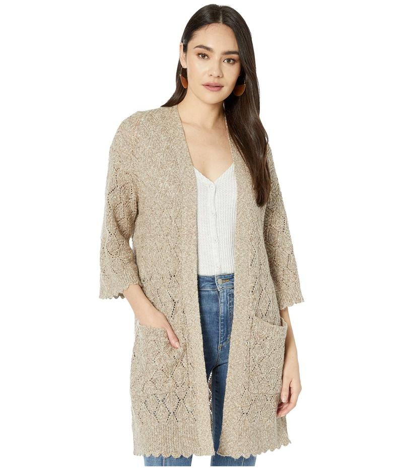 ビービーダコタ レディース ニット・セーター アウター Warming Up To You Drop Needle Cardigan Sweater Birch