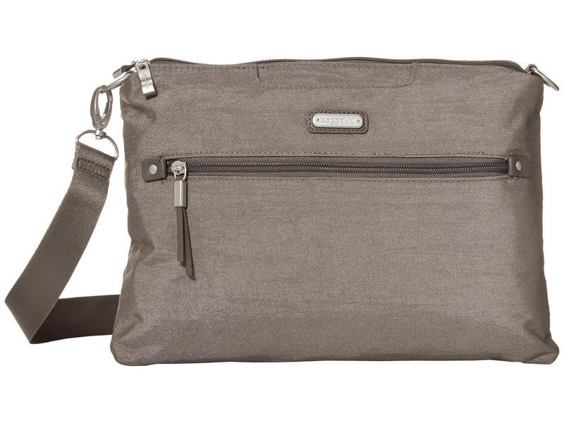 バッガリーニ レディース ハンドバッグ バッグ New Classic Five Blocks Crossbody Bag Sterling Shimme