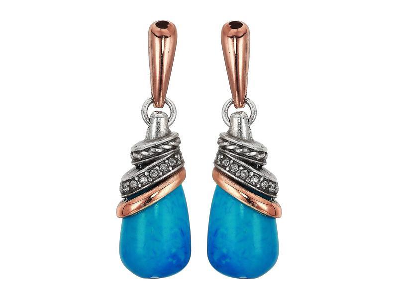 ブライトン レディース ピアス・イヤリング アクセサリー Neptune's Rings Teardrop Earrings Turquoise