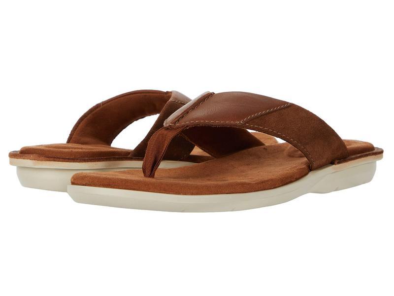 クラークス メンズ サンダル シューズ Ellison Easy Tan Leather
