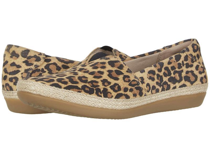 クラークス レディース サンダル シューズ Danelly Sky Tan Leopard Sue