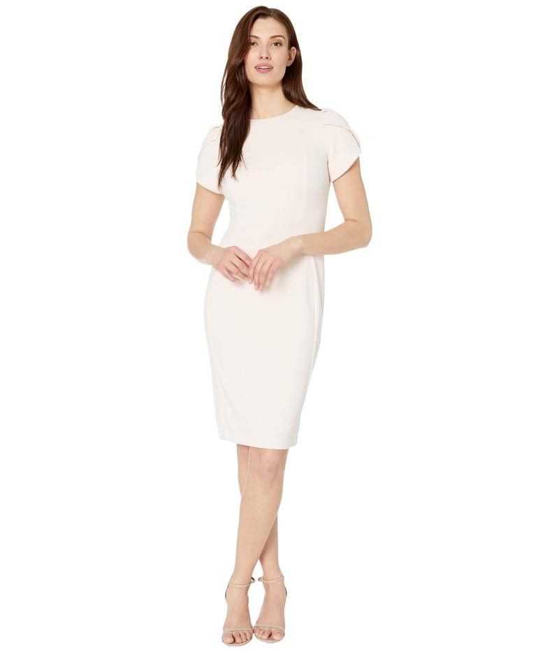 カルバンクライン レディース ワンピース トップス Tulip Sleeve Sheath Dress Blossom