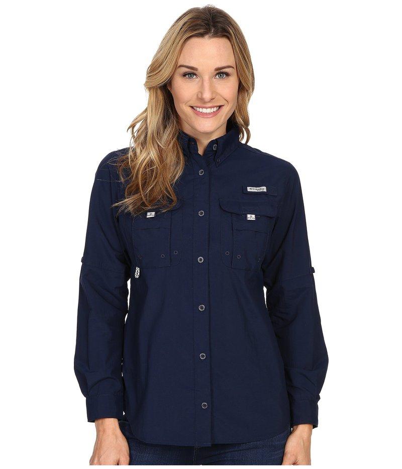 コロンビア レディース シャツ トップス Bahama¢ L/S Shirt Collegiate Navy