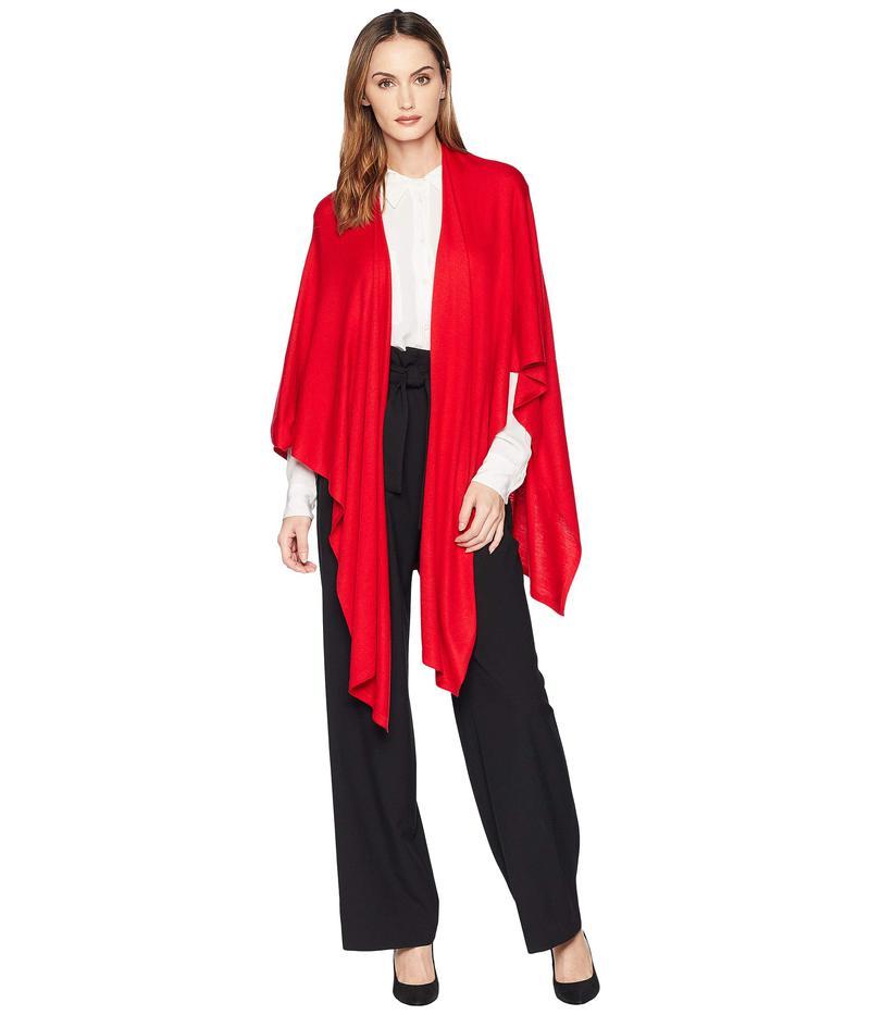 エコーデザイン レディース ニット・セーター アウター Core Everyday Ruana Ruby Red