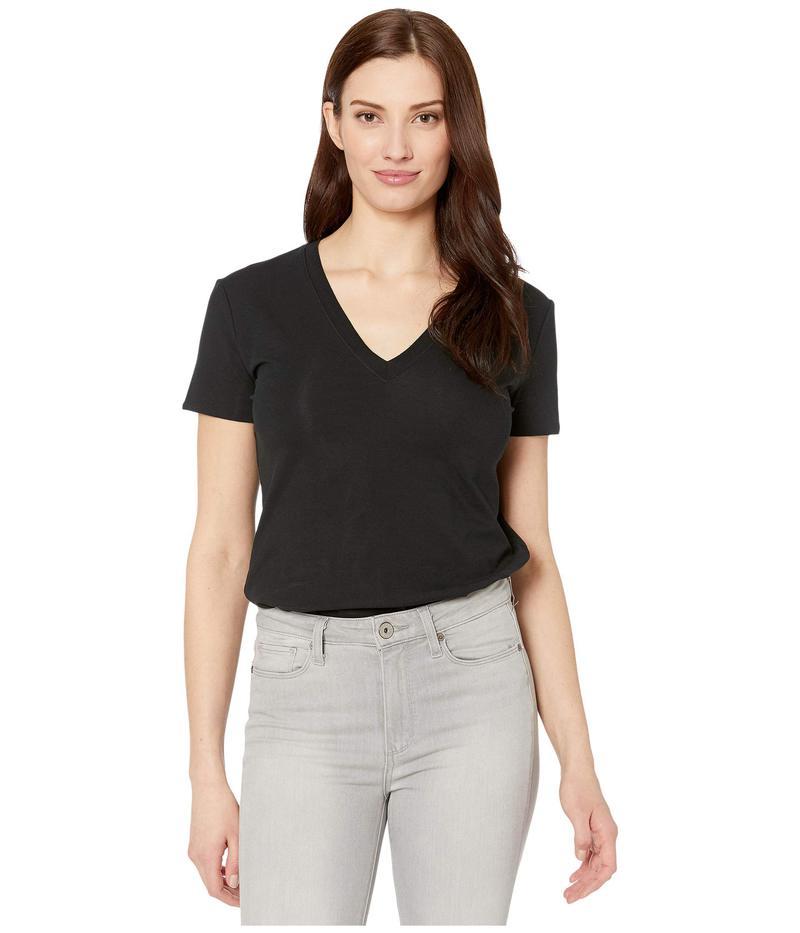 コマンドー レディース シャツ トップス Essential Cotton Bodysuit Tee BDS124 Black
