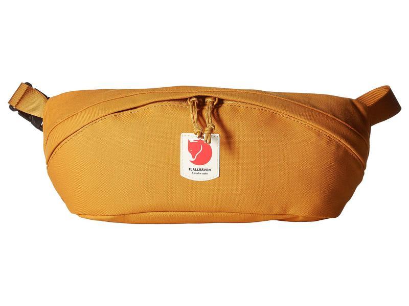 フェールラーベン メンズ ボディバッグ・ウエストポーチ バッグ Ulv¶ Hip Pack Medium Red Gold