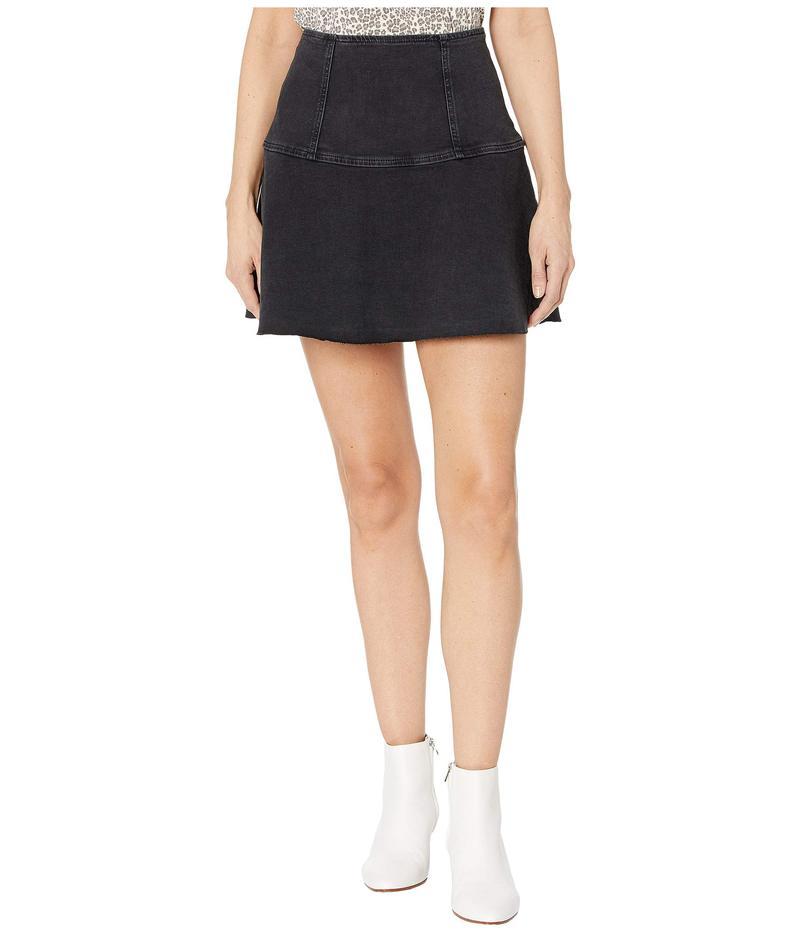 フリーピープル レディース スカート ボトムス Highlands Denim Skirt Black