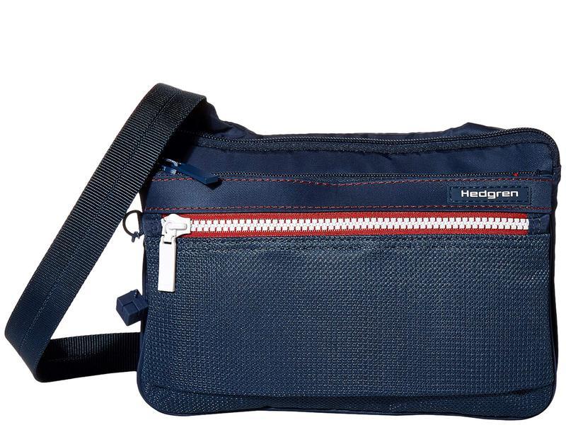 ヘドグレン レディース ハンドバッグ バッグ Sally RFID Crossbody with Safety Hook Active Blue