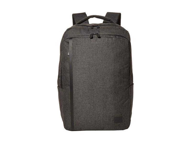 ハーシェルサプライ メンズ バックパック・リュックサック バッグ Travel Backpack Black Crosshatc