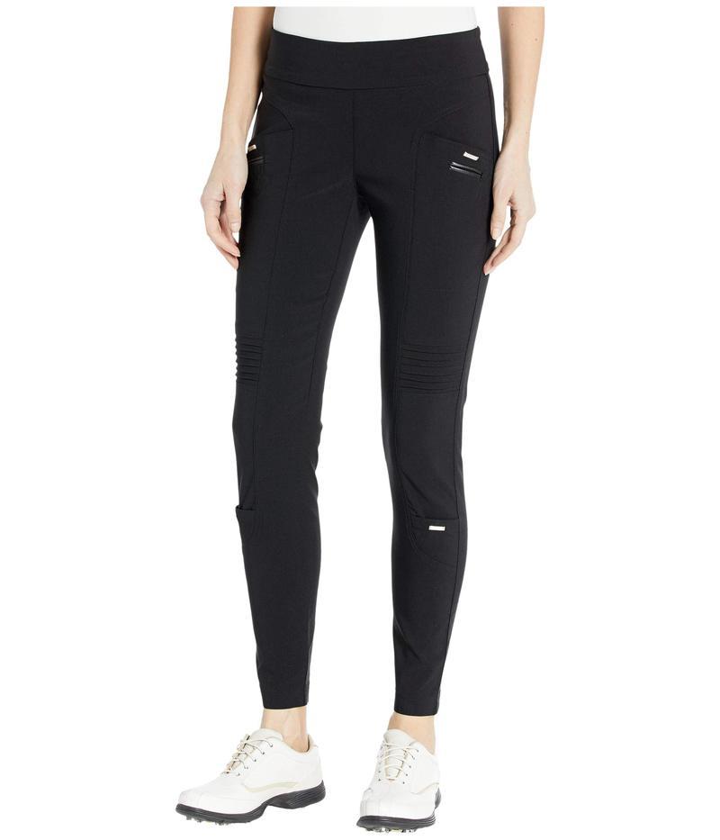 ジャイミーサドック レディース カジュアルパンツ ボトムス Skinnylicious Ankle Pants with Control Top Panel Jet Black
