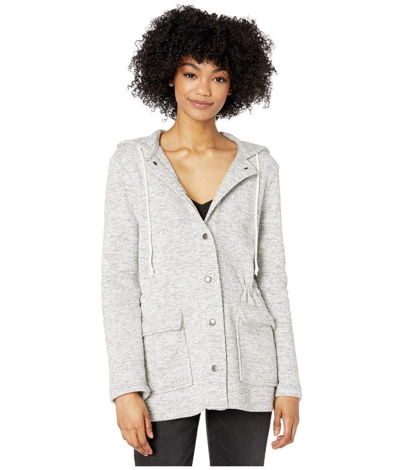ジャック バイ ビービーダコタ レディース コート アウター Snap Closure Knit Jacket with Patch Pockets Ivory