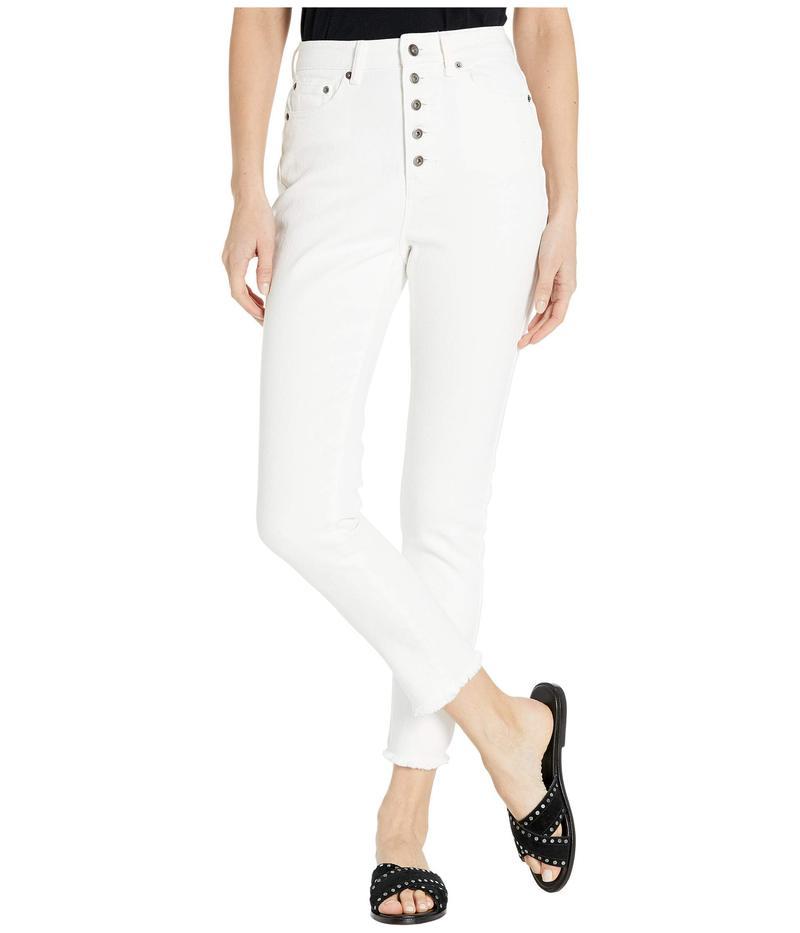 ジャック バイ ビービーダコタ レディース デニムパンツ ボトムス High-Rise Denim Pants Bright White