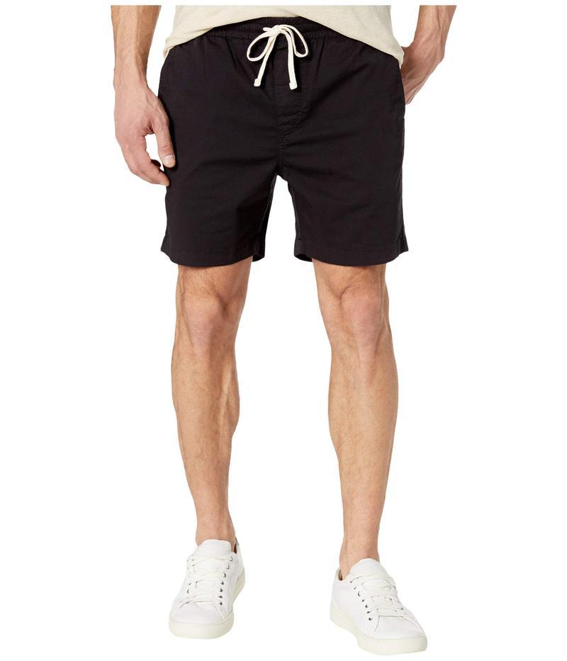 ジェイクルー メンズ ハーフパンツ・ショーツ ボトムス Garment-Dyed Stretch Dock Shorts Black