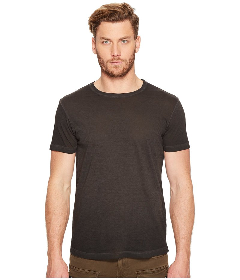 ベルスタッフ メンズ シャツ トップス Trafford Cold Dye Jersey T-Shirt Black