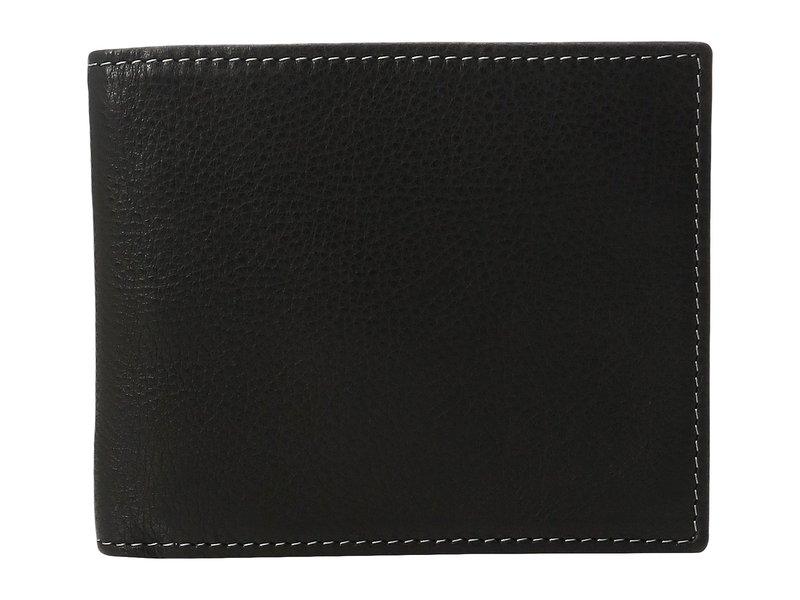 ジョンストンアンドマーフィー メンズ 財布 アクセサリー Slimfold Wallet Black 1