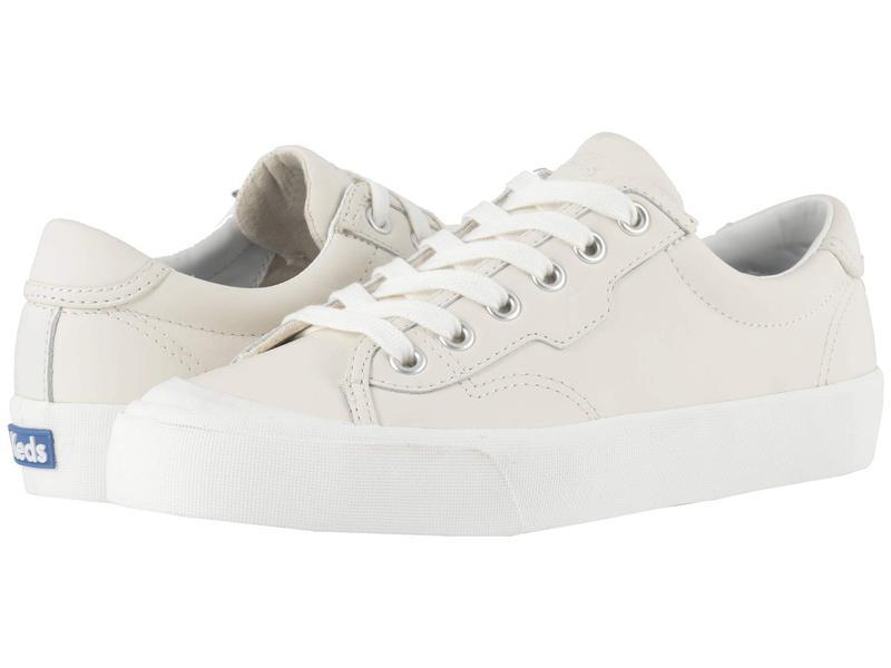 ケッズ レディース スニーカー シューズ Crew Kick 75 Leather White Leather