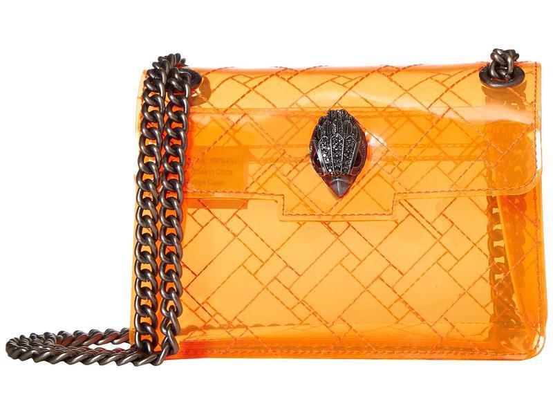 カートジェイガーロンドン レディース ハンドバッグ バッグ Transparent Mini Kensington Orange