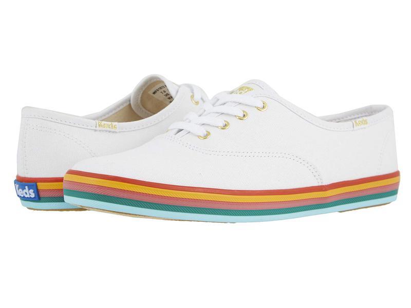 ケッズ レディース スニーカー シューズ Champion Rainbow Foxing White/Multi