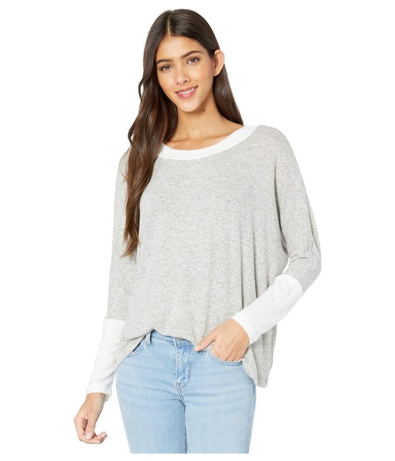 ラメイド レディース ニット・セーター アウター Brushed Hacci Retreat Sweater Heather Grey 1