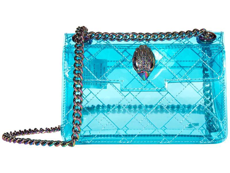 カートジェイガーロンドン レディース ハンドバッグ バッグ Transparent Mini Kensington Mid Blue