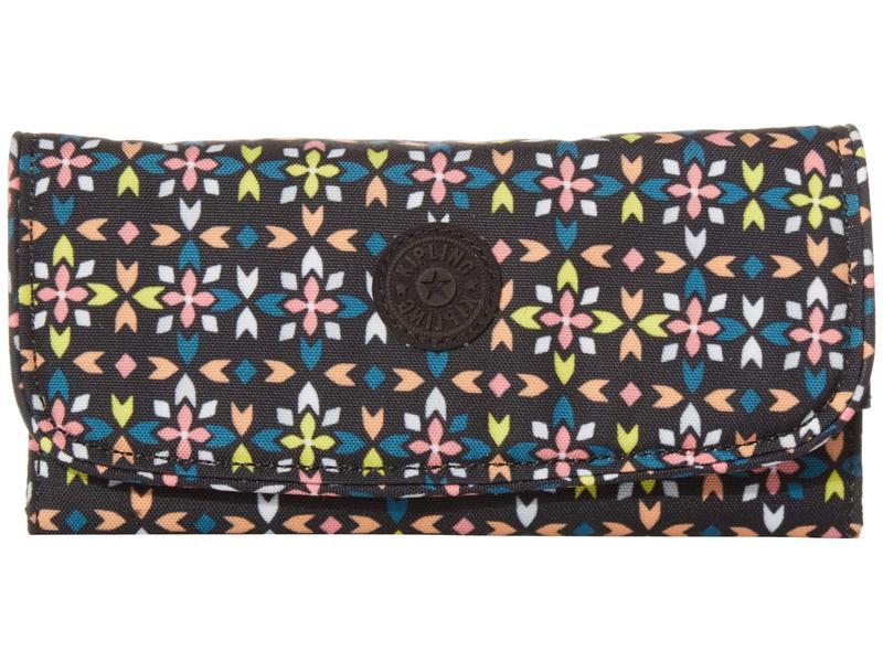 キプリング レディース 財布 アクセサリー Money Land RFID Wallet Floral Mozzaik