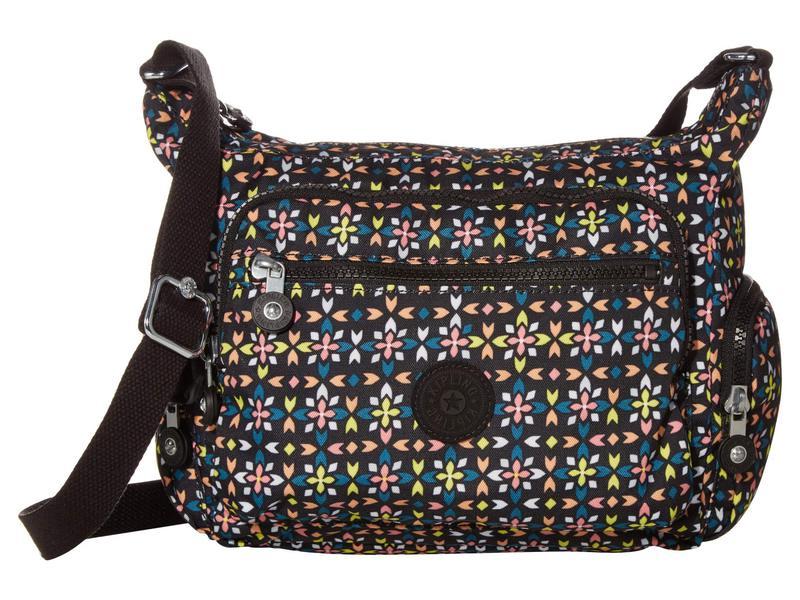 キプリング レディース ハンドバッグ バッグ Gabbie Small Crossbody Bag Floral Mozzaik