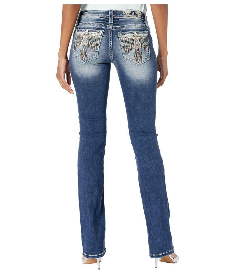 ミスミー レディース デニムパンツ ボトムス Thunderbird Bootcut Jeans in Dark Blue Dark Blue