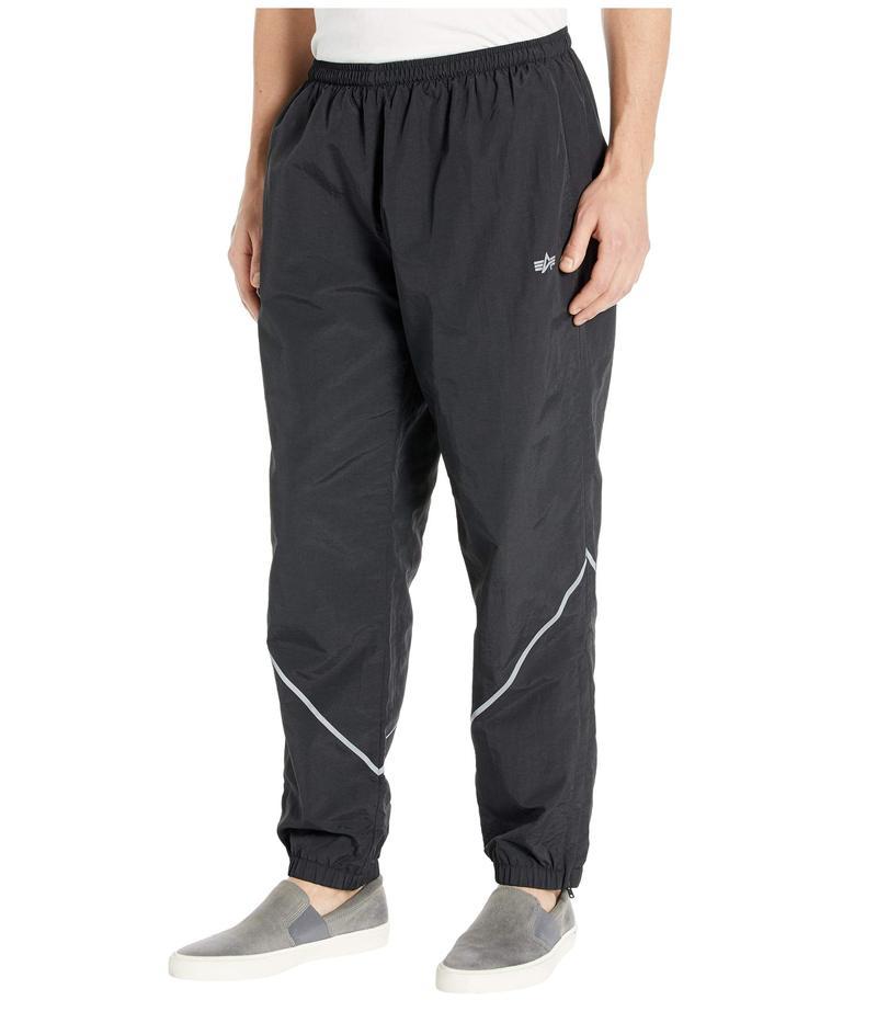 アルファインダストリーズ メンズ カジュアルパンツ ボトムス PT Track Pants Black
