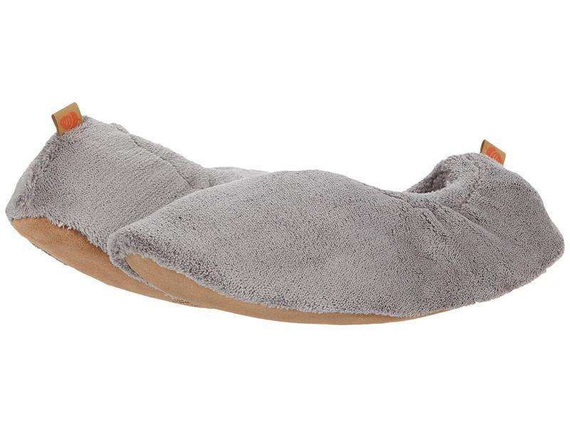 エイコーン レディース サンダル シューズ Spa Travel Slipper Grey