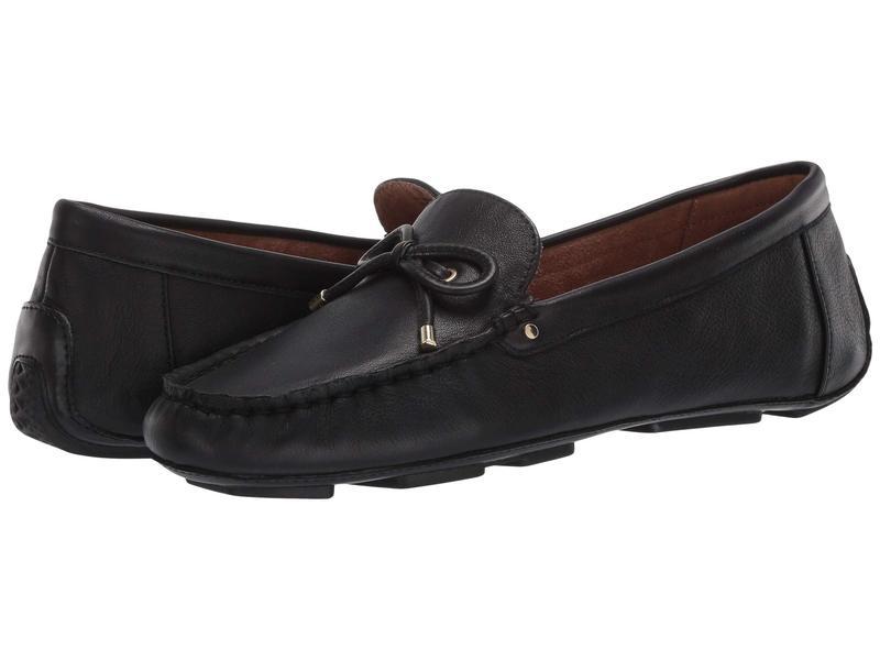 エアロソールズ レディース スリッポン・ローファー シューズ Brookhaven Black Leather