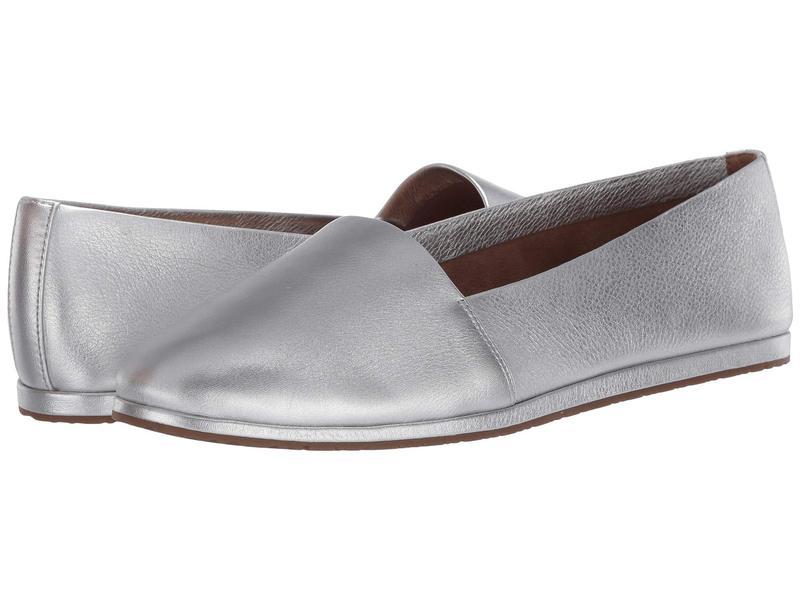 エアロソールズ レディース スリッポン・ローファー シューズ Holland Silver Leather