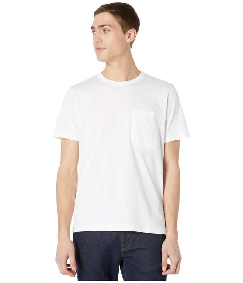 セブンフォーオールマンカインド メンズ シャツ トップス Pocket T-Shirt White