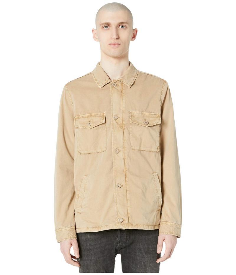 オールセインツ メンズ コート アウター Colridge Jacket Cord Taupe