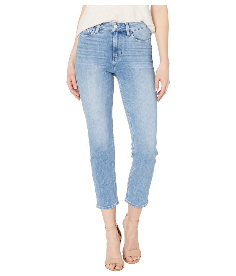 ペイジ レディース デニムパンツ ボトムス Hoxton Slim Crop w/ Linear Coin Pocket Jeans in Lo-Fi Distressed Lo-Fi Distresse