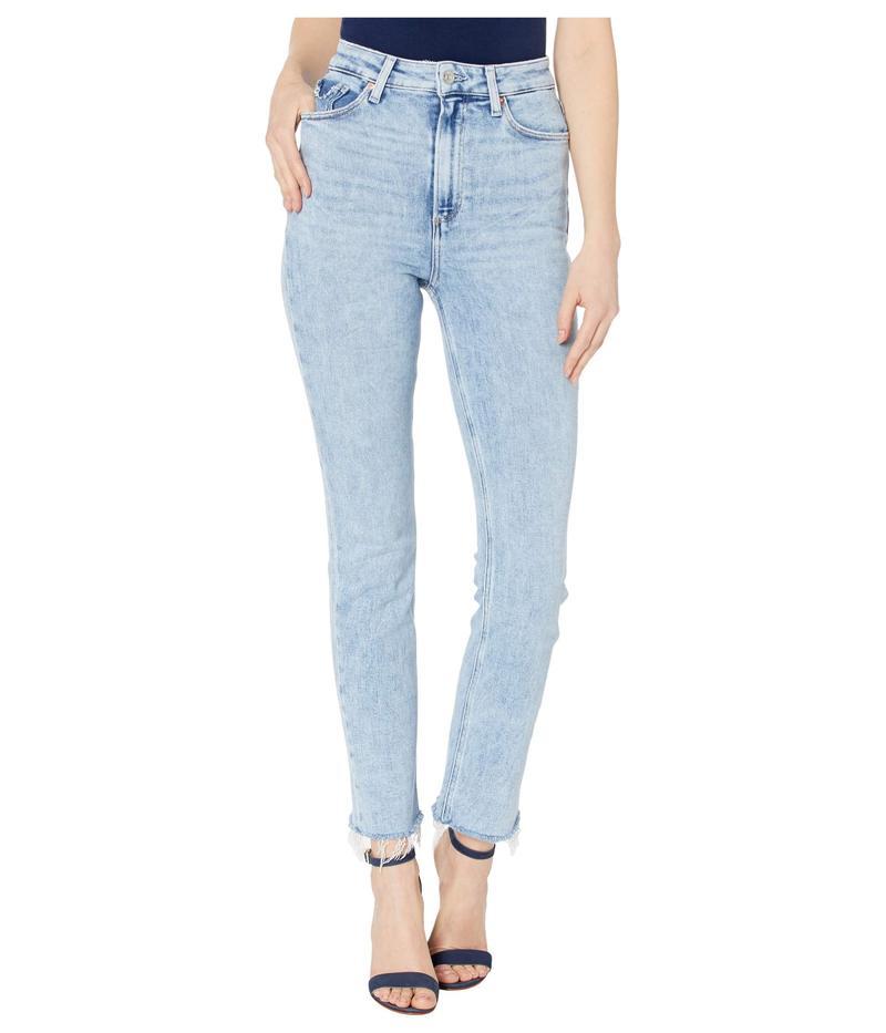 ペイジ レディース デニムパンツ ボトムス Ultra High-Rise Cindy w/ Raw Hem Jeans in Mariska Mariska