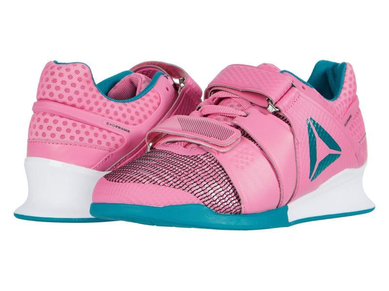 リーボック レディース スニーカー シューズ Legacy Lifter Posh Pink/White