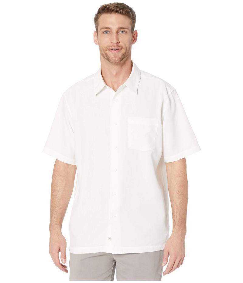 クイックシルバー ウォーター マン メンズ シャツ トップス Centinela 4 Short Sleeve Shirt White Centinell