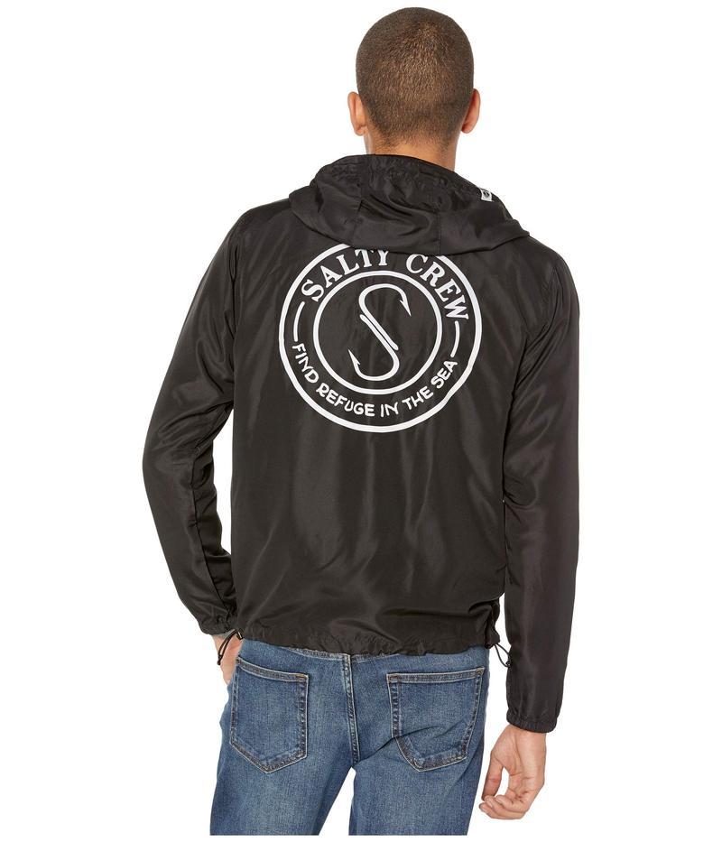 ソルティークルー メンズ コート アウター Palomar Hood Jacket Black