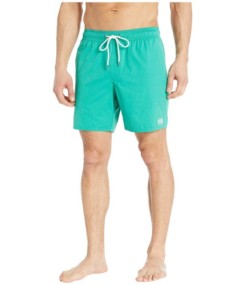 ルーカ メンズ ハーフパンツ・ショーツ 水着 Opposites Elastic Shorts Vintage Green