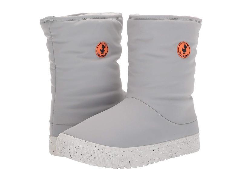 セイブ ザ ダック メンズ ブーツ・レインブーツ シューズ Native Shoes Lhotse Boots Shark Grey