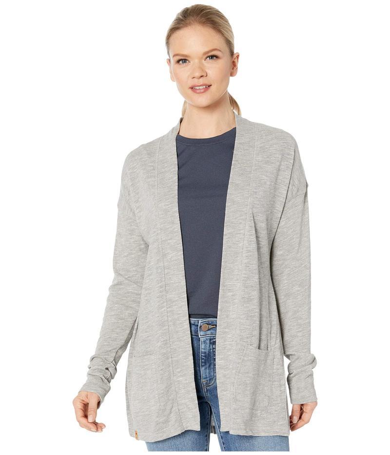 テンツリー レディース ニット・セーター アウター Alouette Long Sleeve Cardigan High-Rise Grey