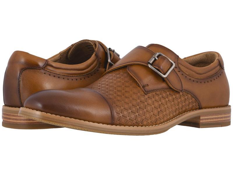 送料無料 サイズ交換無料 ステイシーアダムス 贈り物 メンズ シューズ オックスフォード Monk Cap 1着でも送料無料 Tan Toe Strap Fenwick